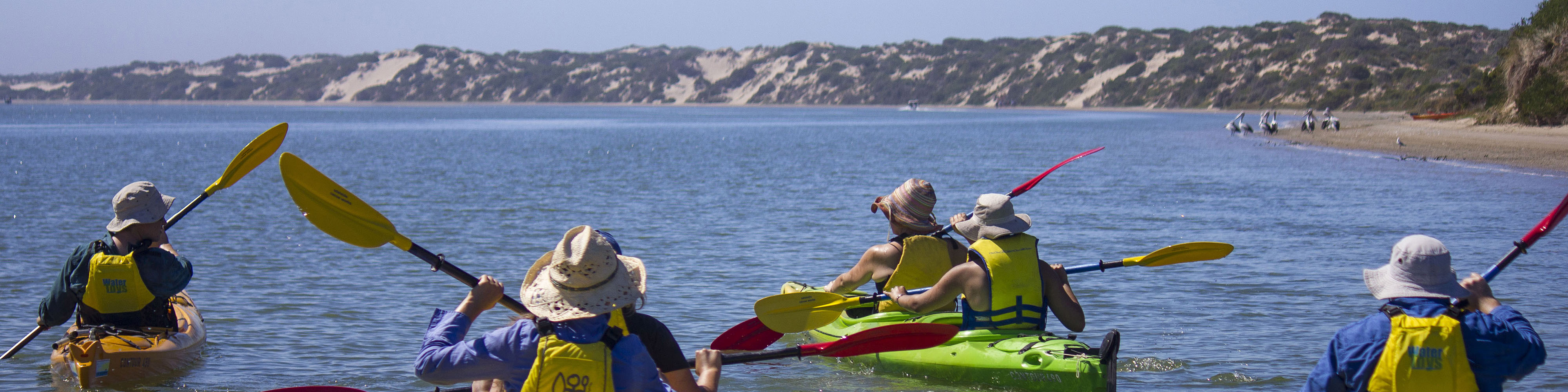 Welcome to Canoe the Coorong